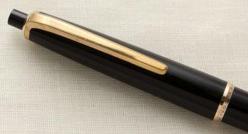 9588 Montblanc Pix No.35 Mechanical Pencil in Classic Black.