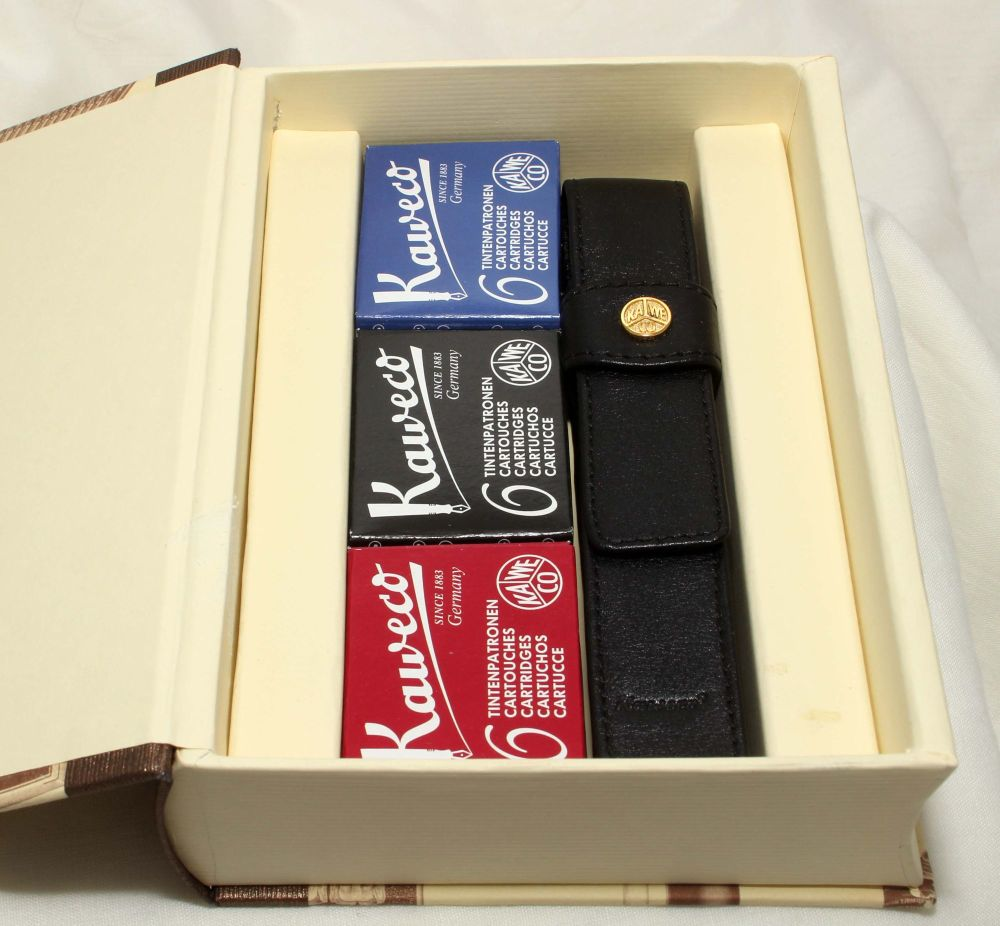 9658 Kaweco 1910 Special Edition Fountain Pen in Classic Black. Smooth Medi