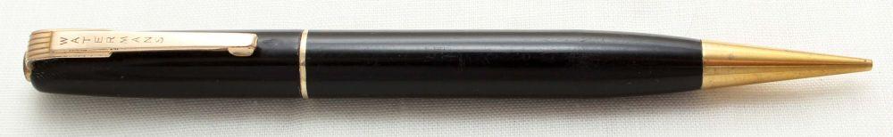 9660 Watermans W2/W3 Propelling Pencil in Black.