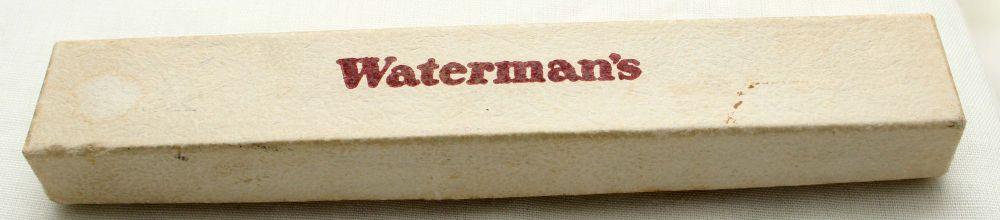 9827 Watermans W2 Fountain Pen in Burgundy,  Medium FIVE STAR Nib.