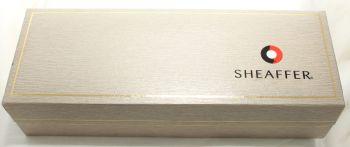 9896 Sheaffer Prelude Set in Metallic Blue. Smooth Medium Nib. Mint and Boxed.