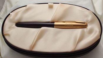3017 Parker Sonnet Accession Fountain Pen in Royal Purple.  Medium Nib.