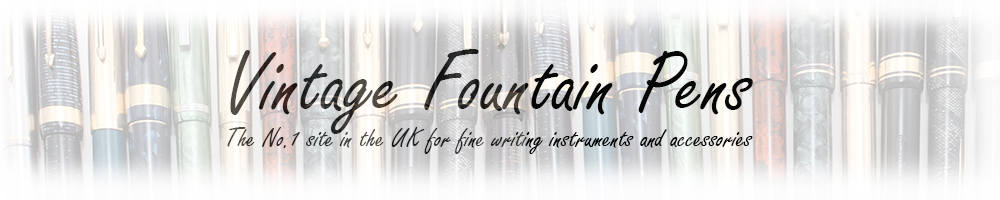Vintage Fountain Pens Ltd, site logo.