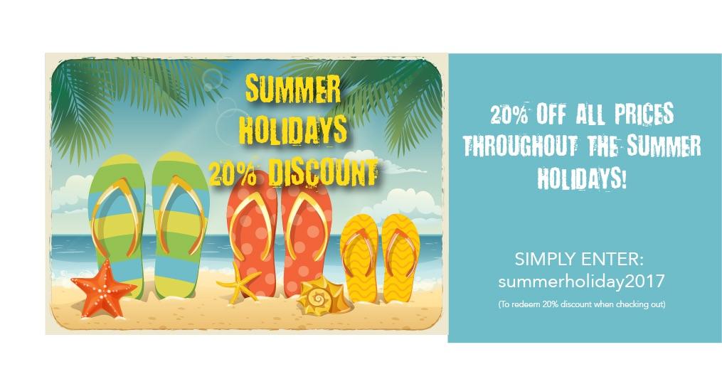 20%summer2017 discount