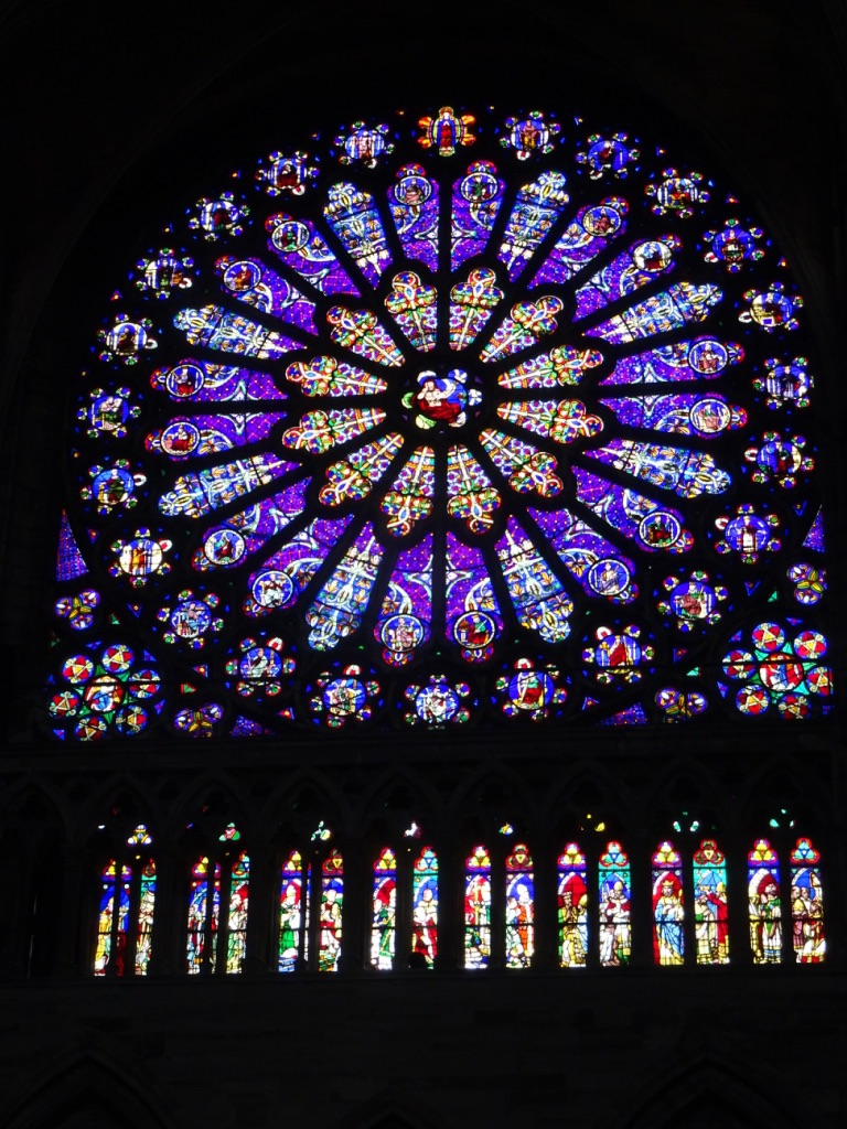 Rose window Basilique de St. Denis