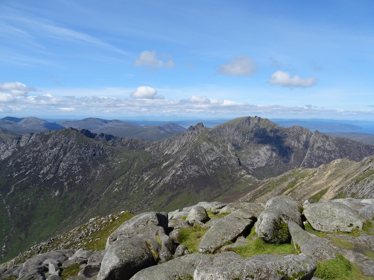 Goatfell view