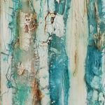 Cove Exploring II 50x20cm Wrapped Canvas - Acrylics, Muslin