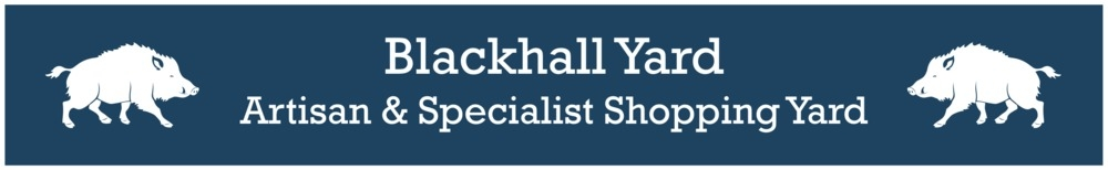 www.blackhallyard.co.uk, site logo.