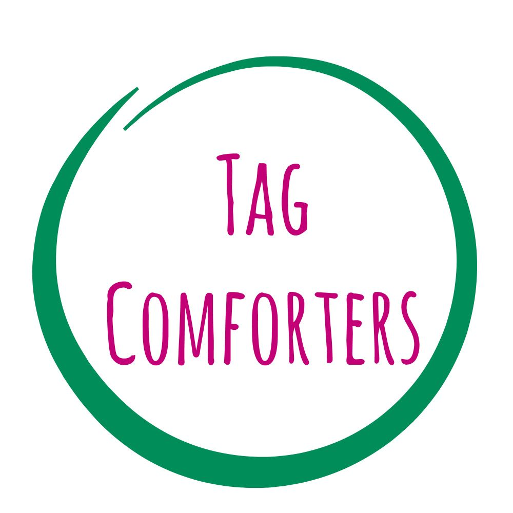 Tag comforters