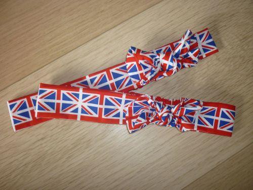 Union jack fabric headband