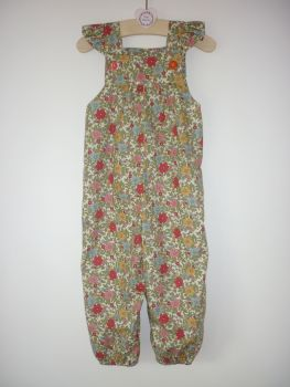 Secret garden floral jumpsuit
