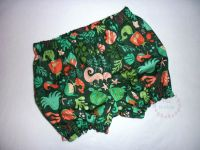 Green sealife mermaid bloomers