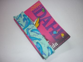 Dolphin elasticated bookmark - in stock
