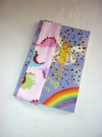 Dinosaur (pink) elasticated bookmark
