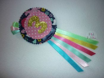 Fantasy unicorns rosette (no. 1-9)