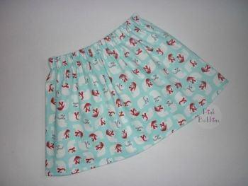 Christmas polar bear skirt