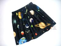 Space solar system skirt - in stock