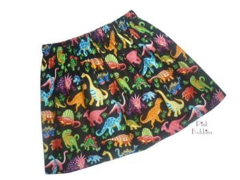 Dinosaur skirt - in stock