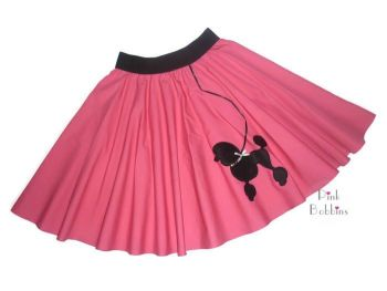 1950s poodle skirt - made to order