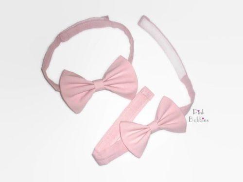 Plain bow tie - any colour