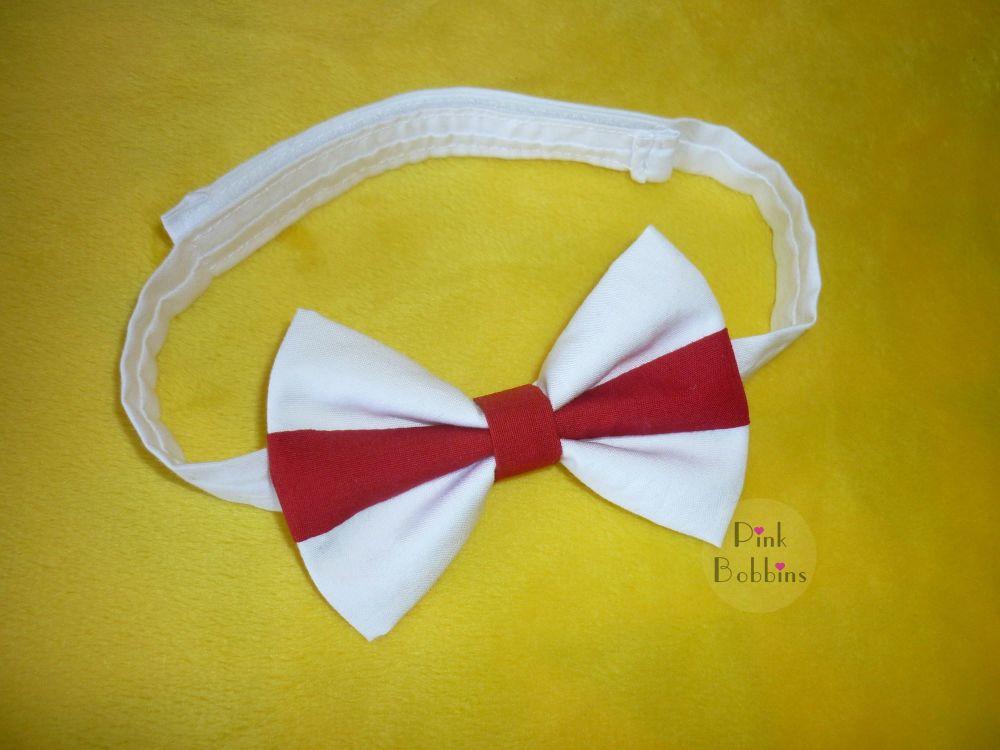 England flag bow tie