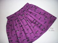 Bat skirt - made to order