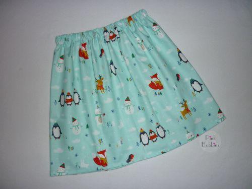 Christmas friends skirt