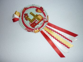 Fire engine rosette (no. 1-9) - made to order