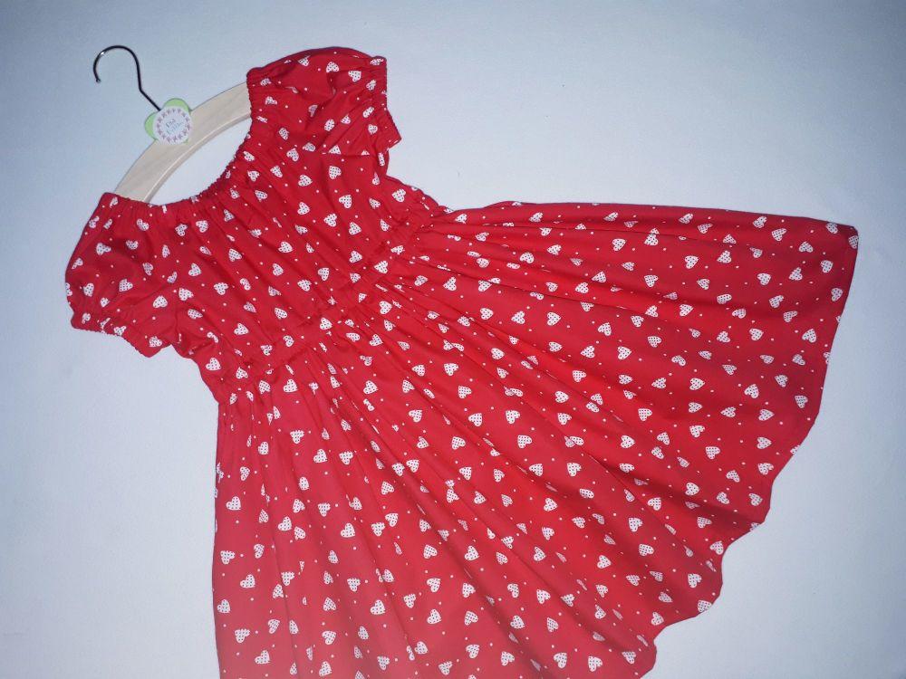 Love heart twirly dress