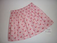 Flamingo (pink) skirt - made to order
