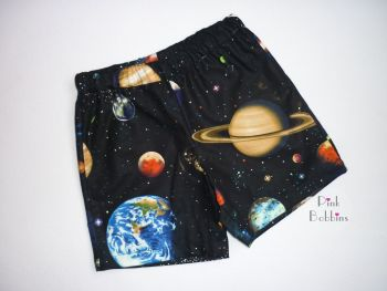 Space shorts - made to order