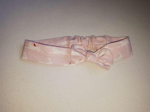 Bunny fabric headband