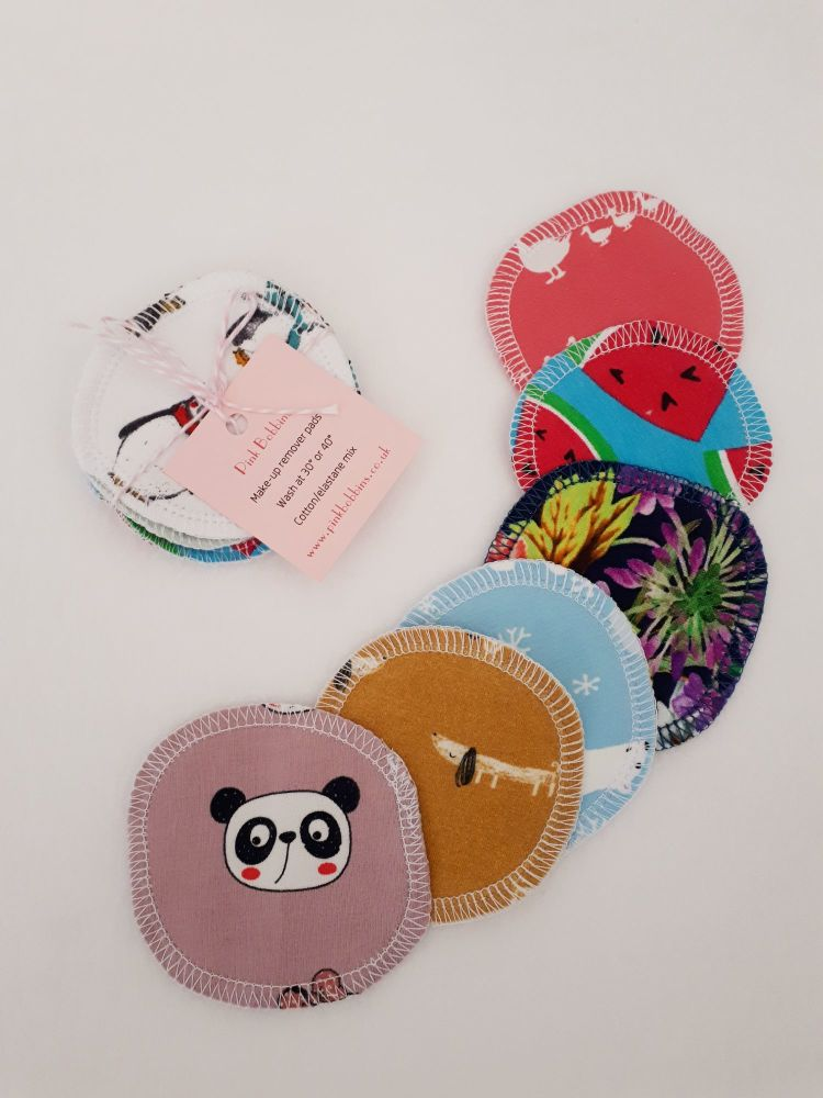 Reusable make-up remover pads