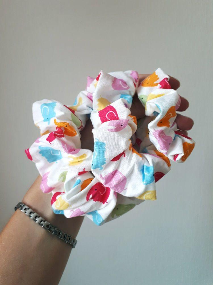 Elephant scrunchie