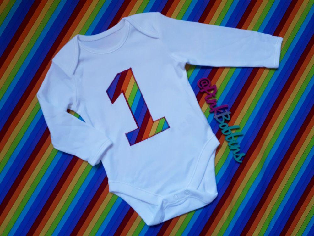 Rainbow no.1 vest