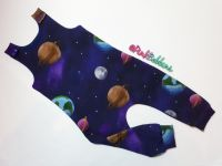 Solar system jersey romper - short or long leg