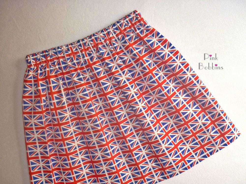 Union Jack skirt