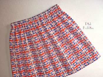 Union Jack skirt - made to order