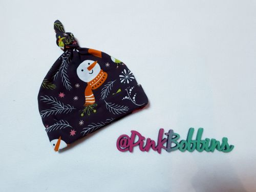 Winter knot hat