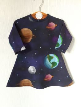 Solar system comfy dress - made to order [exclusive design]