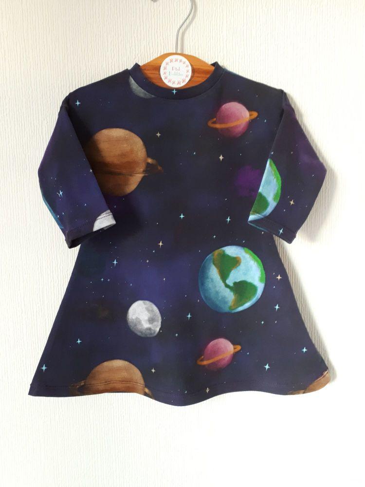 Solar system comfy dress