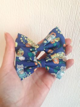 "Cat hair bow *LAST ONES* midi 3.5"" size - in stock"