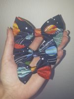 Space hair bow *LAST ONES!*