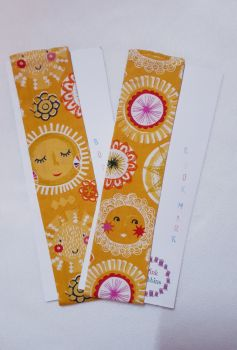 Sunshine elasticated bookmark - LAST ONES!