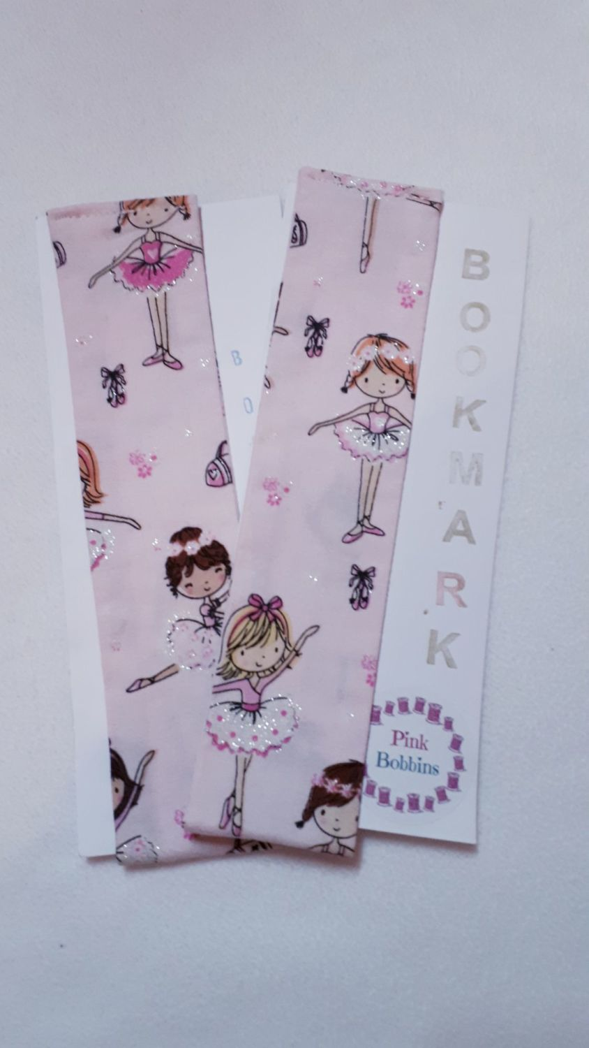 Sparky ballerina bookmark