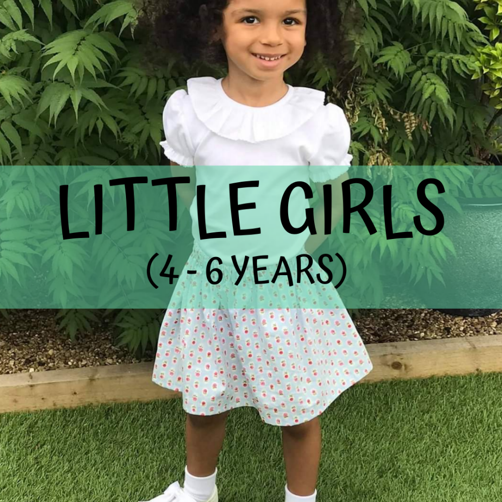 <!--14--> Little Girls (4-6 years)