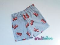 Fire engine shorts - in stock