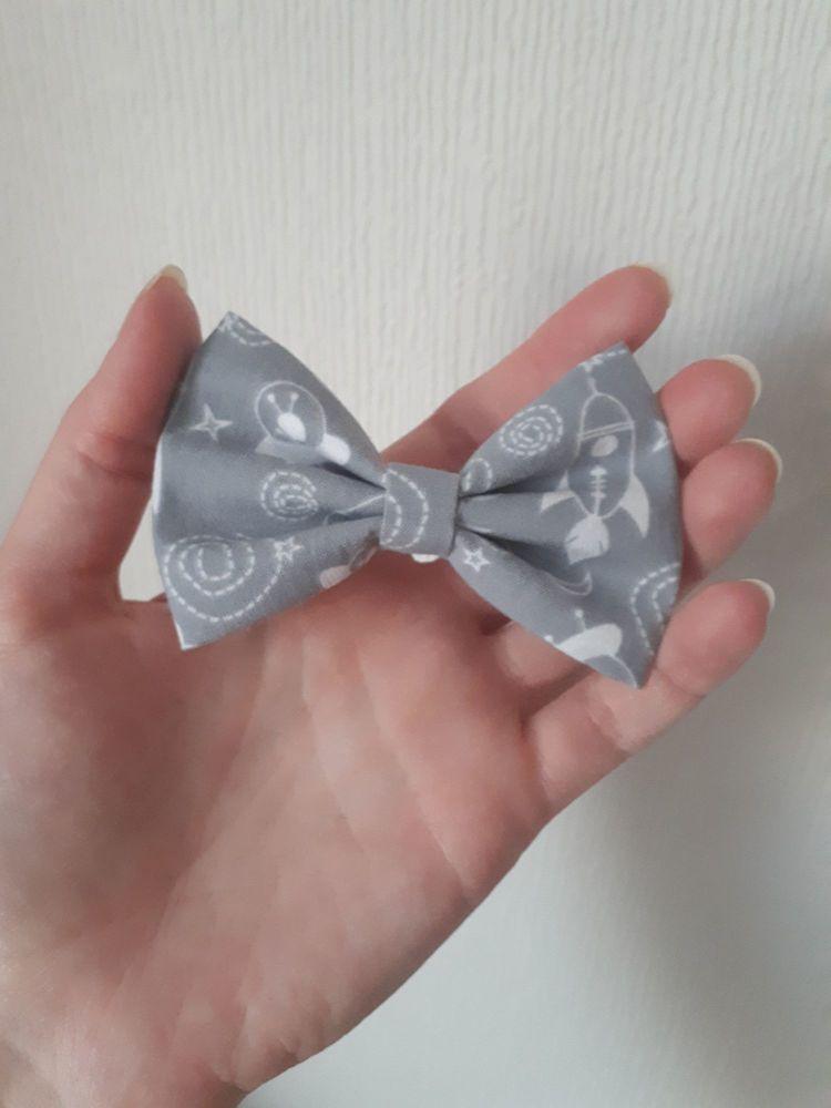 Rocket hair bow clip *LAST ONE* midi 3.5