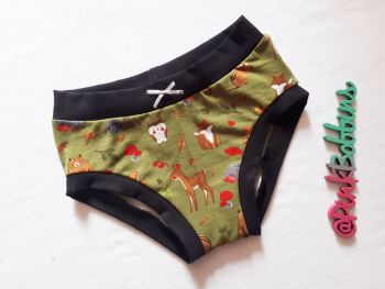 Woodland animal pants - made to order