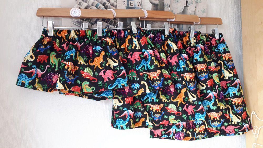 Dinosaur skirt - made to order
